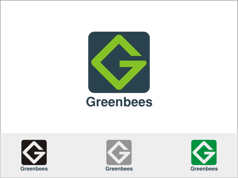 Logo Design by RED HORSE design studio - Entry No. 368 in the Logo Design Contest Greenbees Logo Design.