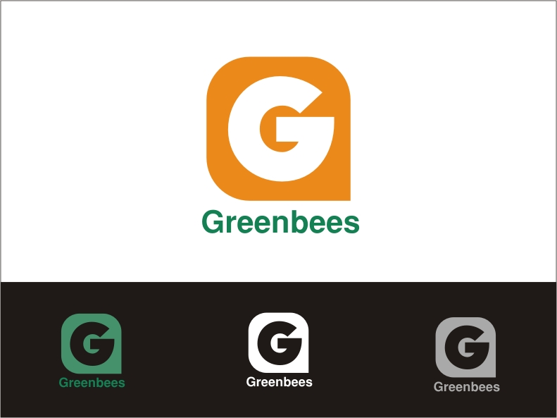Logo Design by RED HORSE design studio - Entry No. 369 in the Logo Design Contest Greenbees Logo Design.
