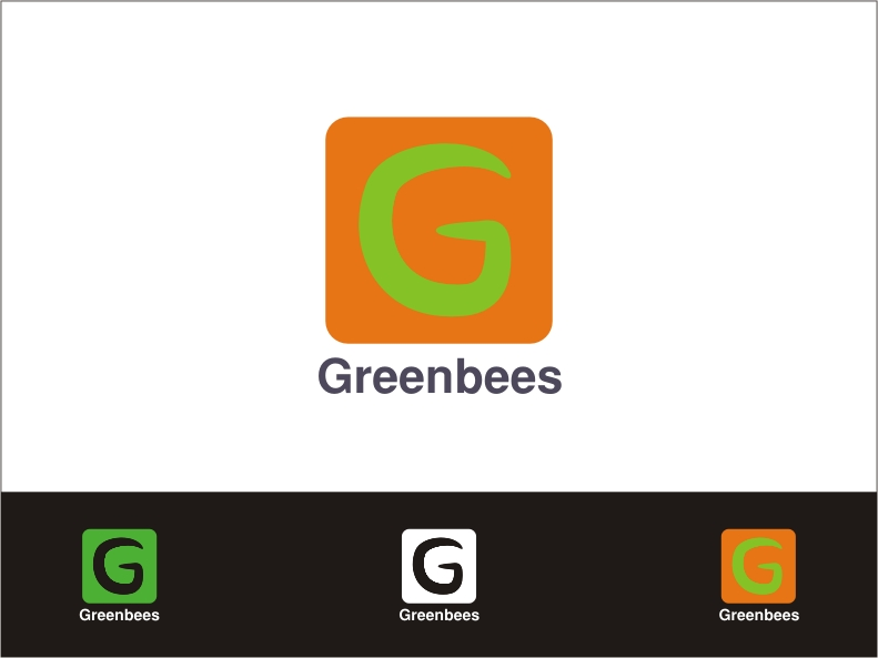 Logo Design by RED HORSE design studio - Entry No. 370 in the Logo Design Contest Greenbees Logo Design.