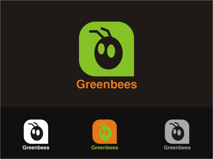 Logo Design by RED HORSE design studio - Entry No. 371 in the Logo Design Contest Greenbees Logo Design.