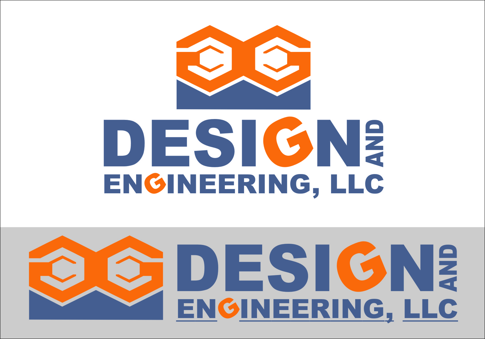 Logo Design by RasYa Muhammad Athaya - Entry No. 83 in the Logo Design Contest Creative Logo Design for G&G Design and Engineering, LLC.