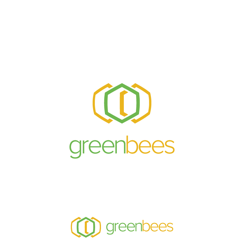 Logo Design by Subhodeep Roy - Entry No. 377 in the Logo Design Contest Greenbees Logo Design.