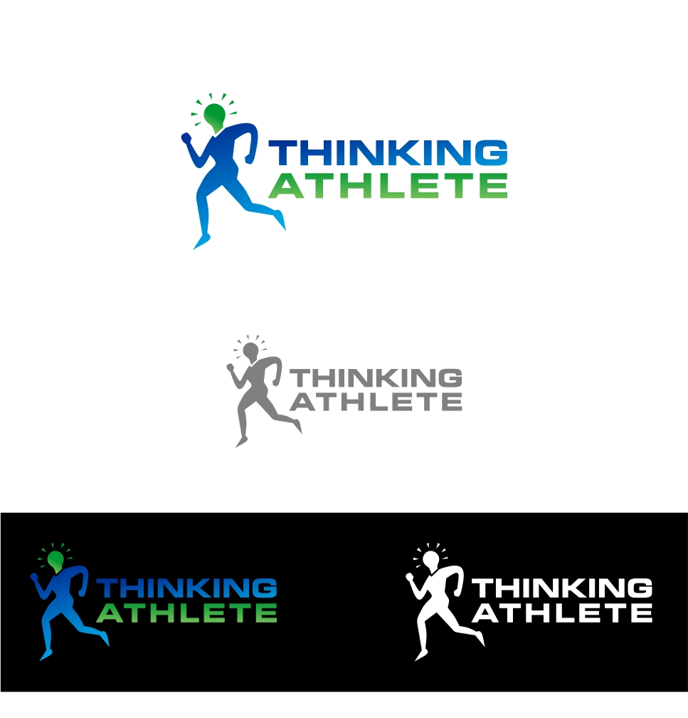 Logo Design by haidu - Entry No. 83 in the Logo Design Contest Thinking Athlete Logo Design.