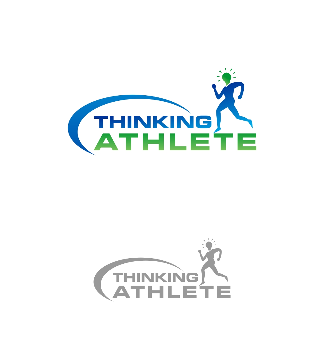 Logo Design by haidu - Entry No. 85 in the Logo Design Contest Thinking Athlete Logo Design.