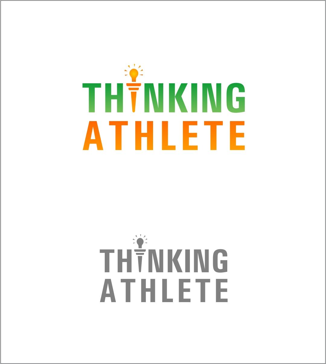 Logo Design by haidu - Entry No. 86 in the Logo Design Contest Thinking Athlete Logo Design.