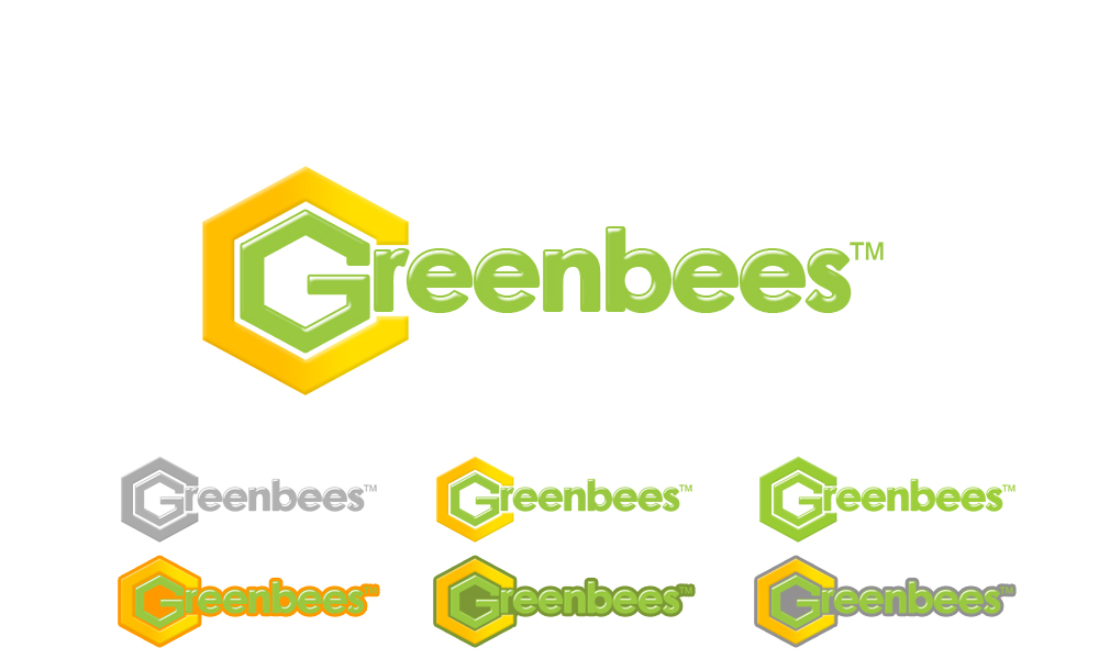 Logo Design by Private User - Entry No. 380 in the Logo Design Contest Greenbees Logo Design.