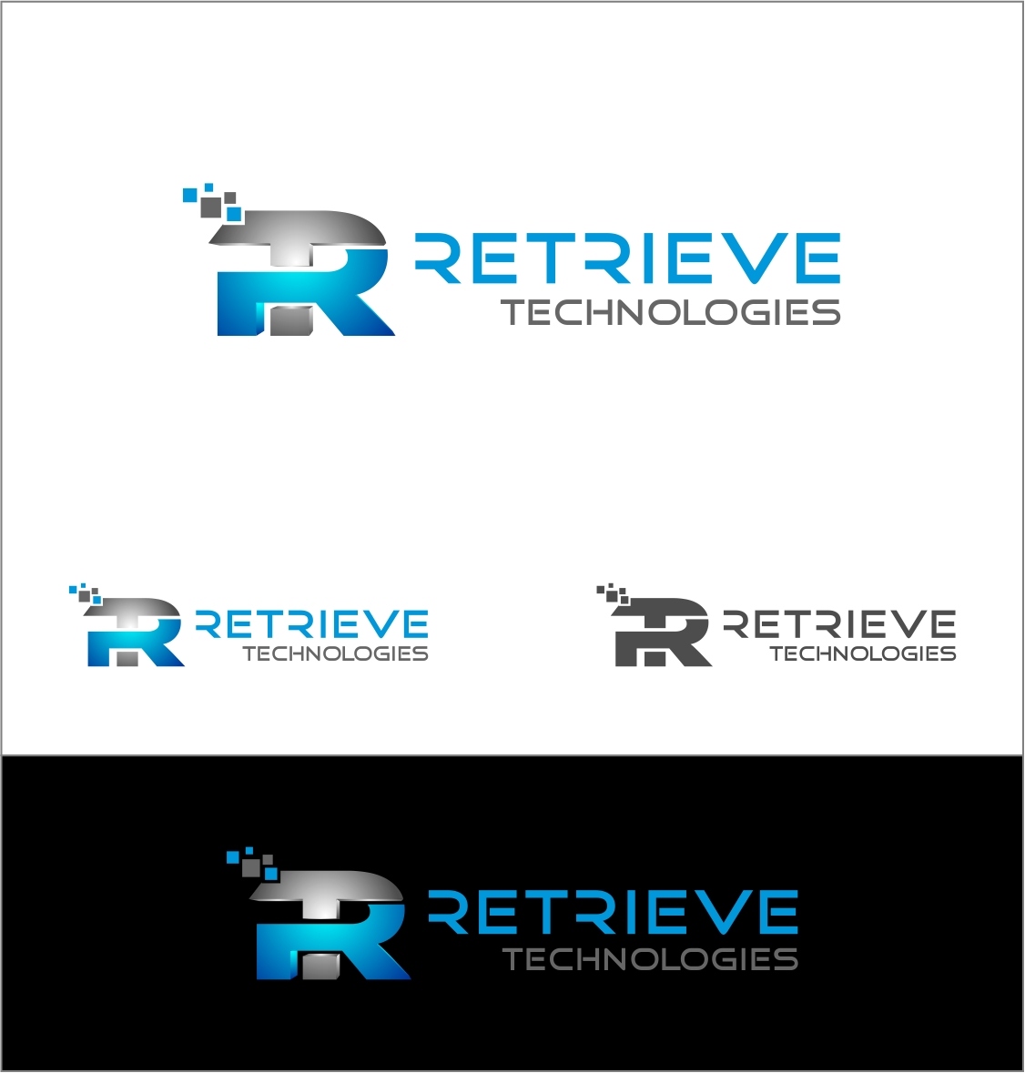 Logo Design by haidu - Entry No. 32 in the Logo Design Contest Artistic Logo Design for Retrieve Technologies.