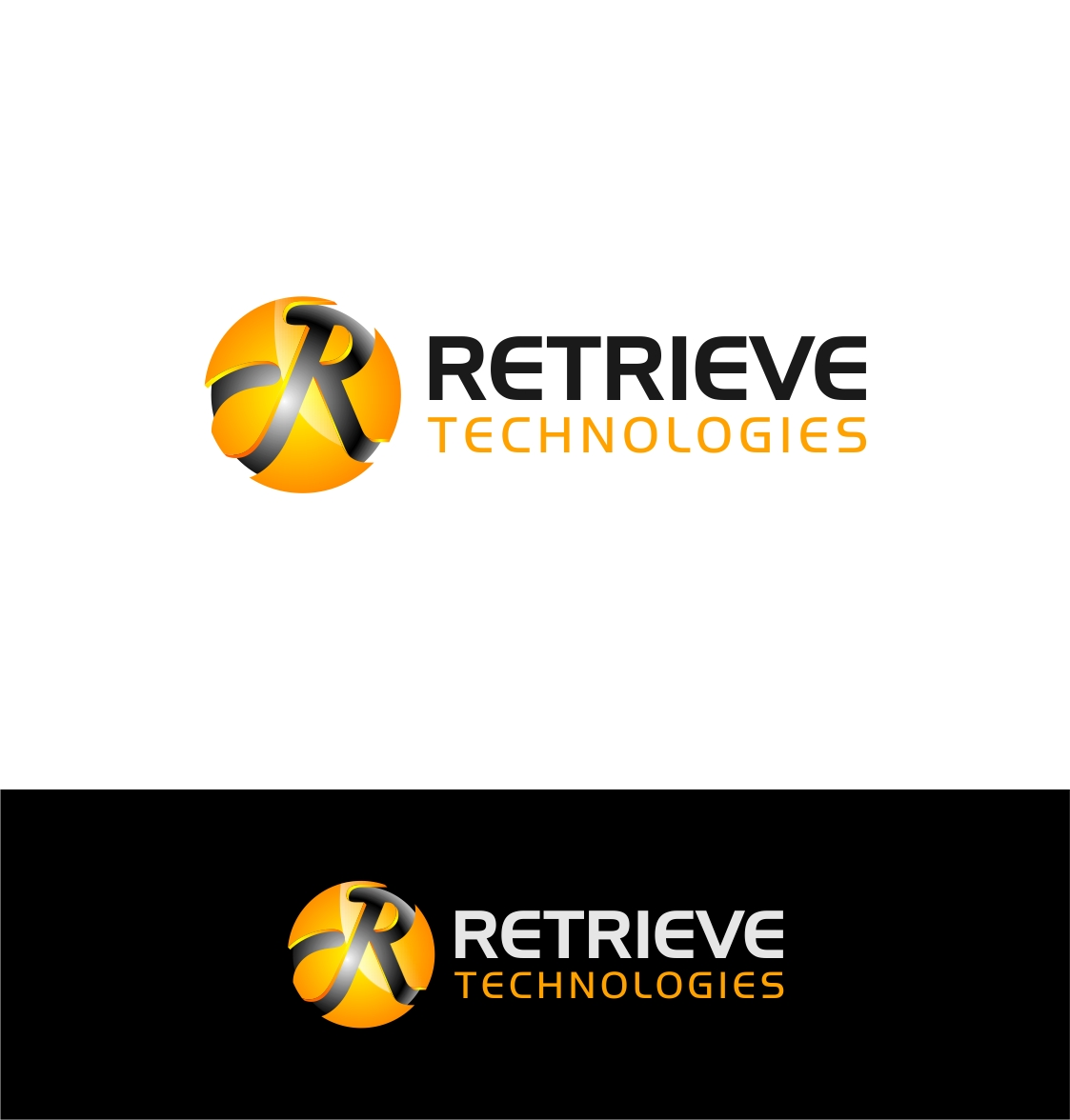 Logo Design by haidu - Entry No. 34 in the Logo Design Contest Artistic Logo Design for Retrieve Technologies.