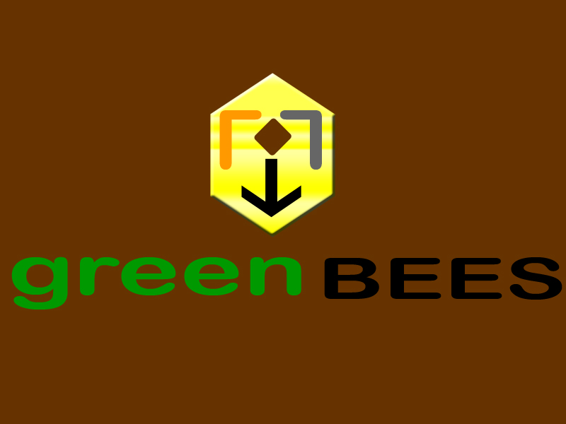 Logo Design by Aljohn Mana-ay - Entry No. 391 in the Logo Design Contest Greenbees Logo Design.