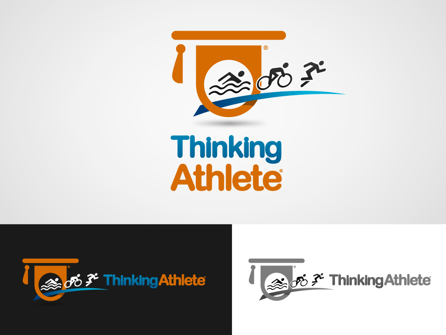 Logo Design by jpbituin - Entry No. 91 in the Logo Design Contest Thinking Athlete Logo Design.