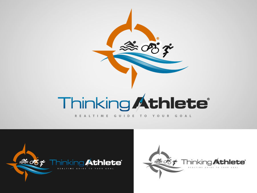 Logo Design by jpbituin - Entry No. 92 in the Logo Design Contest Thinking Athlete Logo Design.