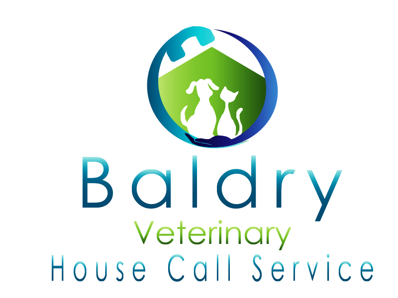 Logo Design by Mythos Designs - Entry No. 186 in the Logo Design Contest Captivating Logo Design for Baldry Veterinary House Call Service.