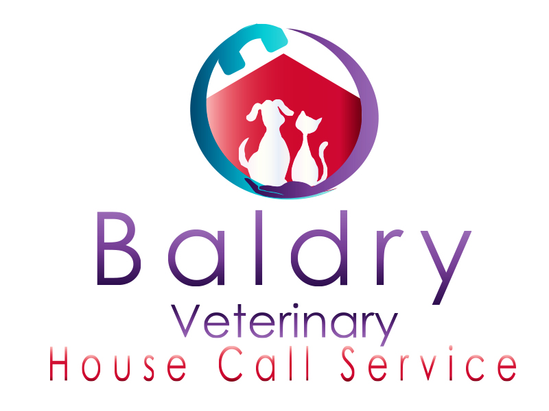 Logo Design by Mythos Designs - Entry No. 187 in the Logo Design Contest Captivating Logo Design for Baldry Veterinary House Call Service.