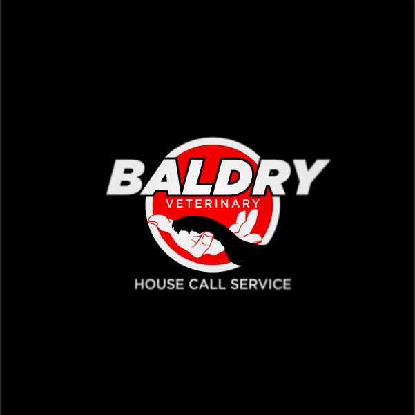 Logo Design by Private User - Entry No. 190 in the Logo Design Contest Captivating Logo Design for Baldry Veterinary House Call Service.
