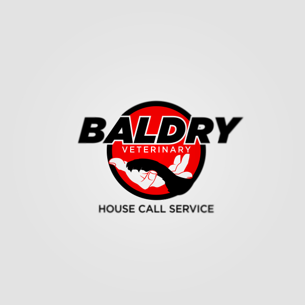 Logo Design by Private User - Entry No. 191 in the Logo Design Contest Captivating Logo Design for Baldry Veterinary House Call Service.