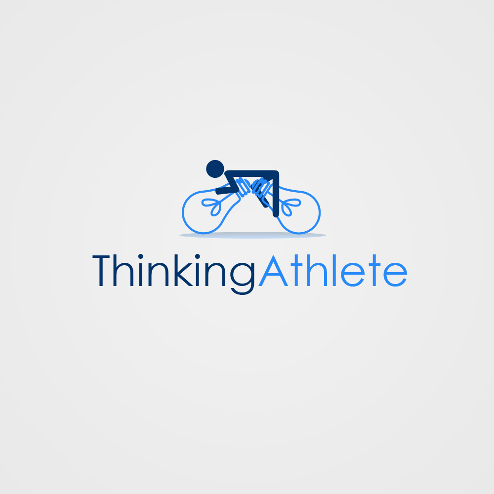 Logo Design by omARTist - Entry No. 93 in the Logo Design Contest Thinking Athlete Logo Design.