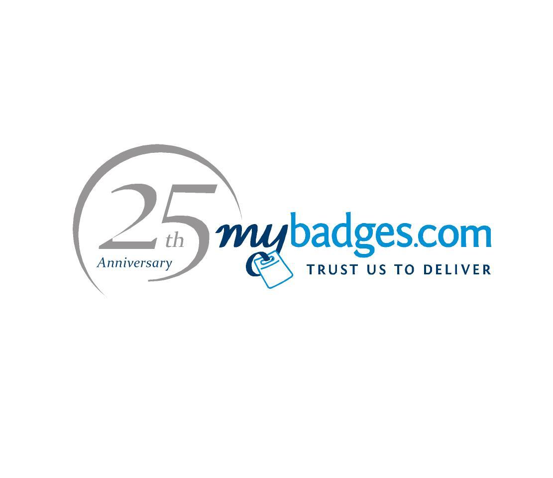 Logo Design by ZAYYADI AHMAD - Entry No. 151 in the Logo Design Contest 25th Anniversary Logo Design Wanted for MyBadges.com.