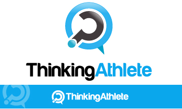 Logo Design by Mobin Asghar - Entry No. 95 in the Logo Design Contest Thinking Athlete Logo Design.