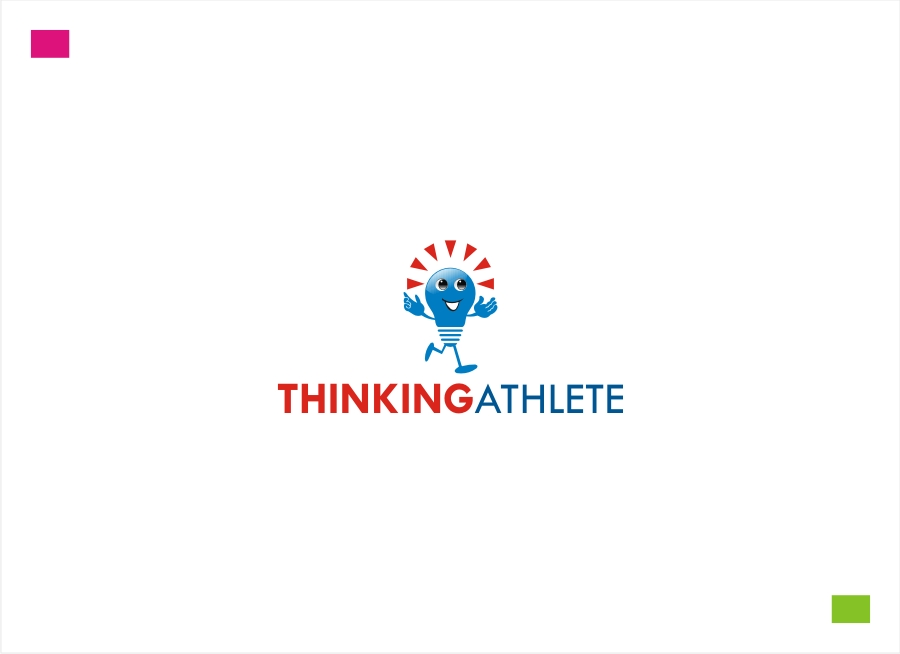 Logo Design by Private User - Entry No. 100 in the Logo Design Contest Thinking Athlete Logo Design.