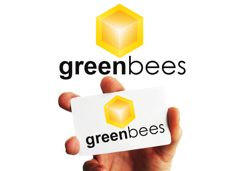 Logo Design by Mythos Designs - Entry No. 394 in the Logo Design Contest Greenbees Logo Design.