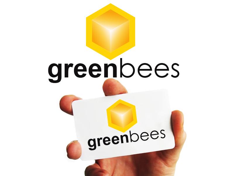 Logo Design by Mythos Designs - Entry No. 395 in the Logo Design Contest Greenbees Logo Design.