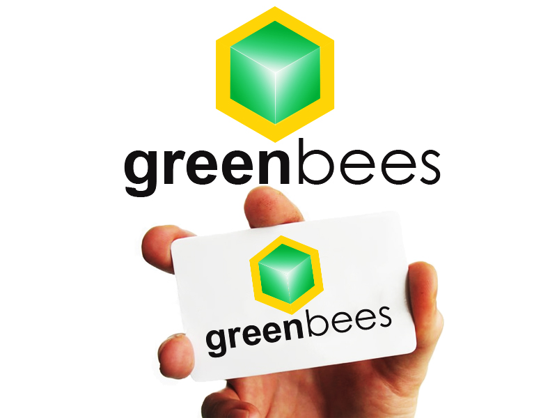 Logo Design by Mythos Designs - Entry No. 396 in the Logo Design Contest Greenbees Logo Design.