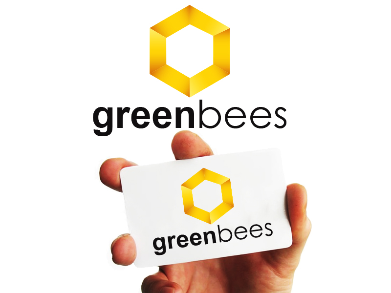 Logo Design by Mythos Designs - Entry No. 399 in the Logo Design Contest Greenbees Logo Design.