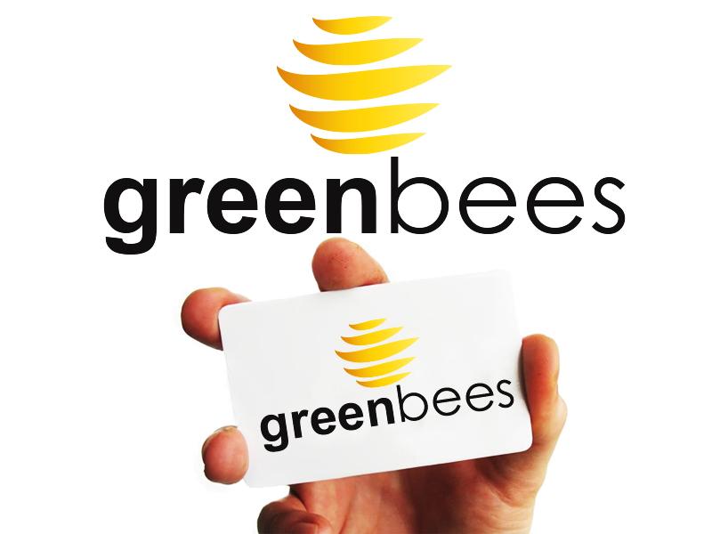 Logo Design by Mythos Designs - Entry No. 401 in the Logo Design Contest Greenbees Logo Design.