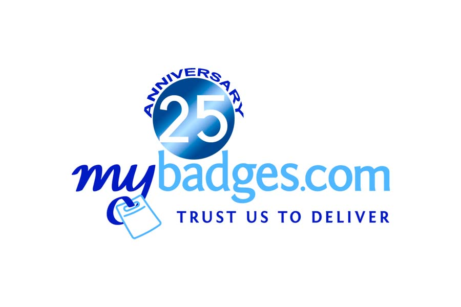Logo Design by Private User - Entry No. 158 in the Logo Design Contest 25th Anniversary Logo Design Wanted for MyBadges.com.