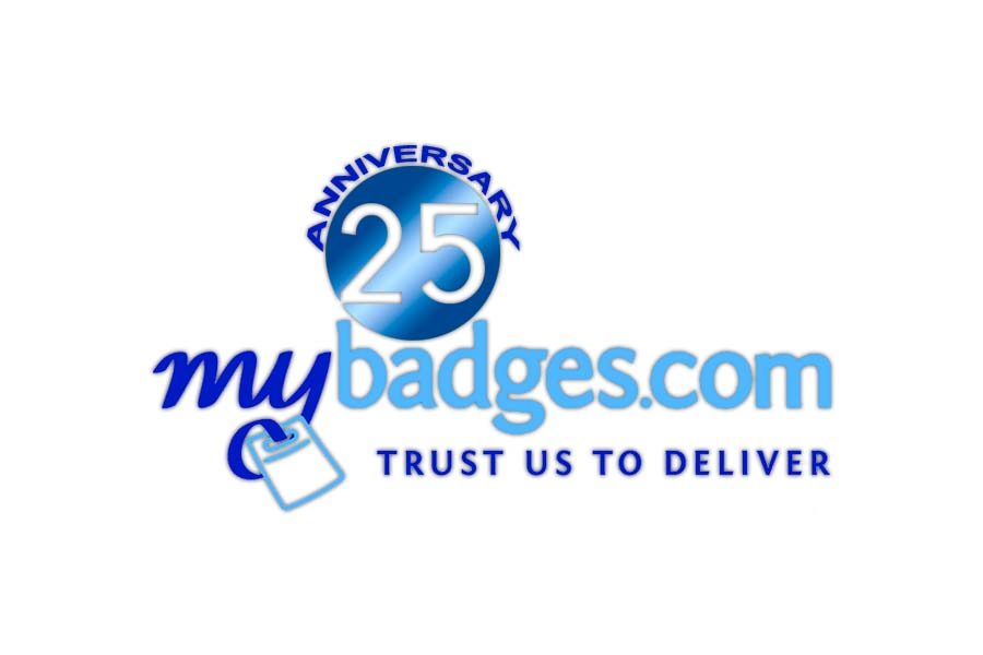 Logo Design by Private User - Entry No. 159 in the Logo Design Contest 25th Anniversary Logo Design Wanted for MyBadges.com.