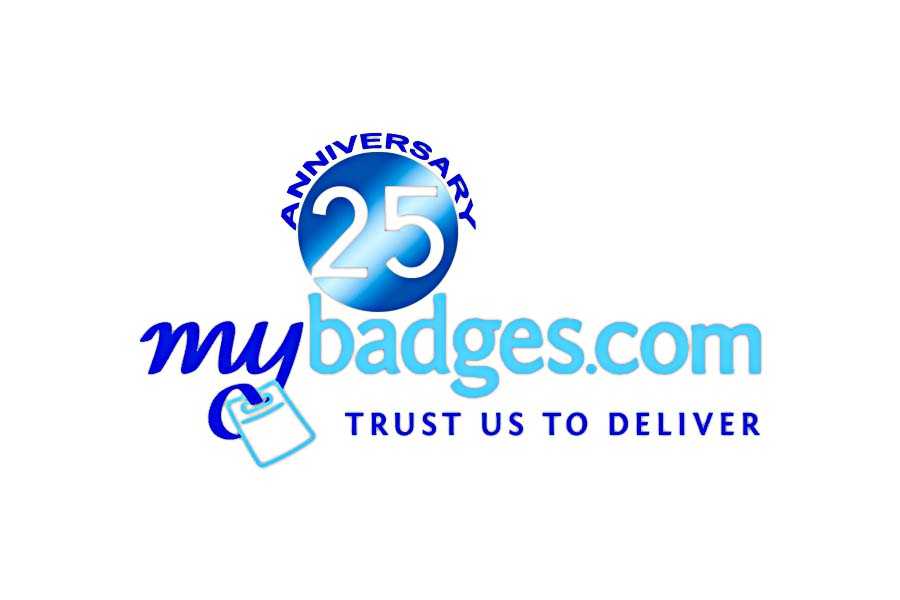 Logo Design by Private User - Entry No. 160 in the Logo Design Contest 25th Anniversary Logo Design Wanted for MyBadges.com.
