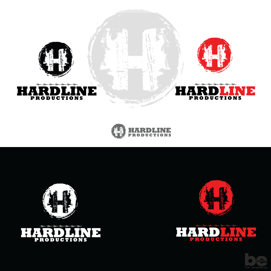 Logo Design by baboons - Entry No. 153 in the Logo Design Contest Hardline Productions.