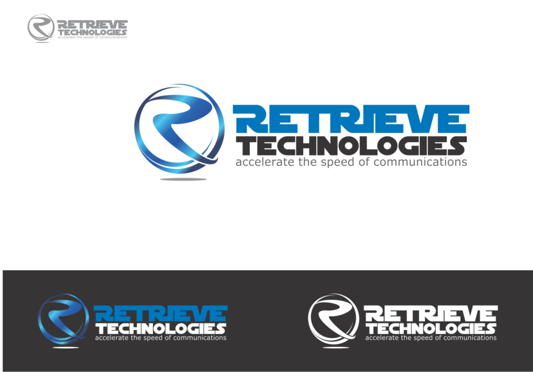 Logo Design by Private User - Entry No. 93 in the Logo Design Contest Artistic Logo Design for Retrieve Technologies.