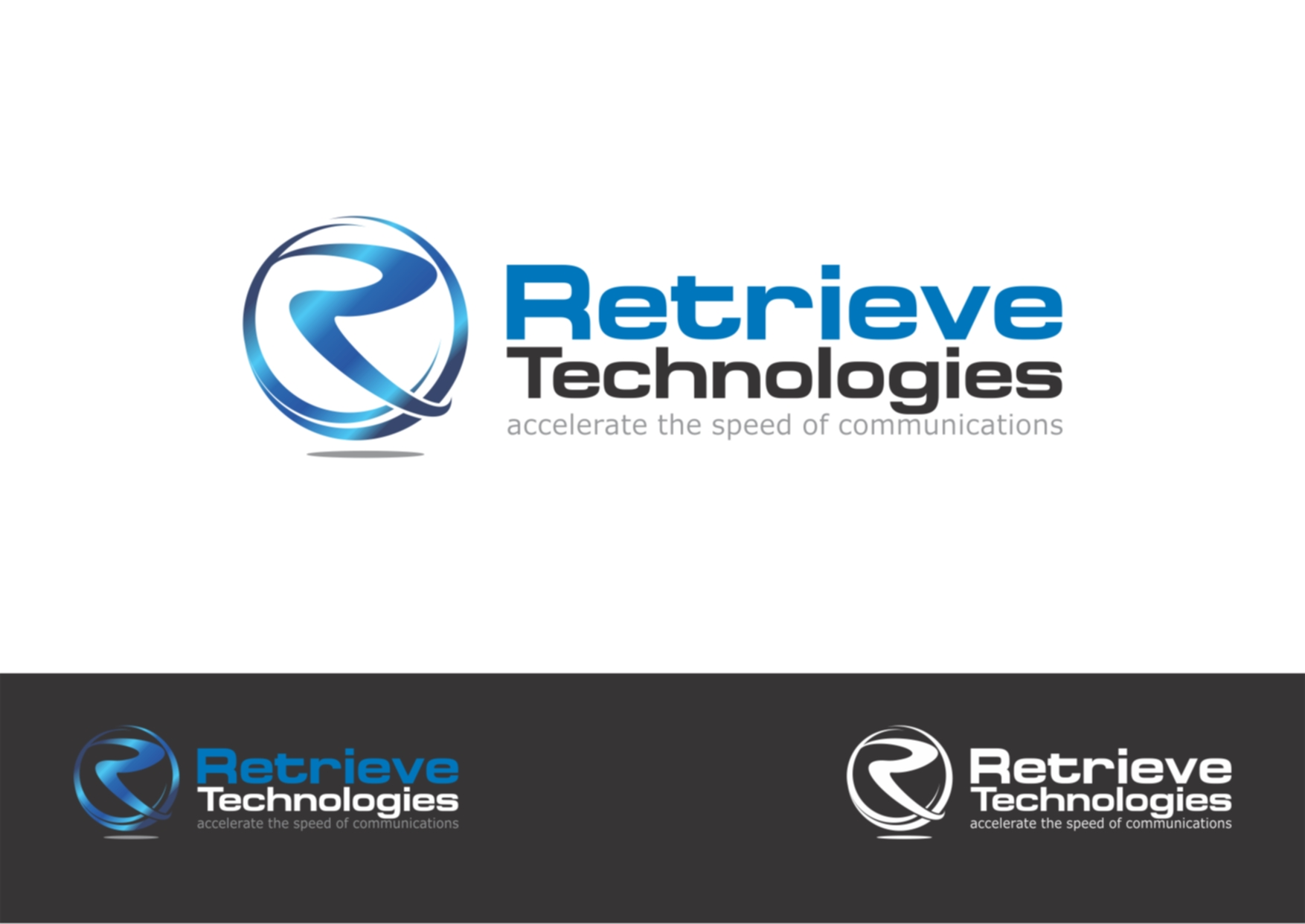 Logo Design by Private User - Entry No. 114 in the Logo Design Contest Artistic Logo Design for Retrieve Technologies.