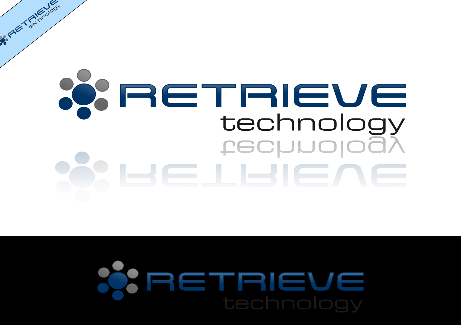 Logo Design by whoosef - Entry No. 158 in the Logo Design Contest Artistic Logo Design for Retrieve Technologies.