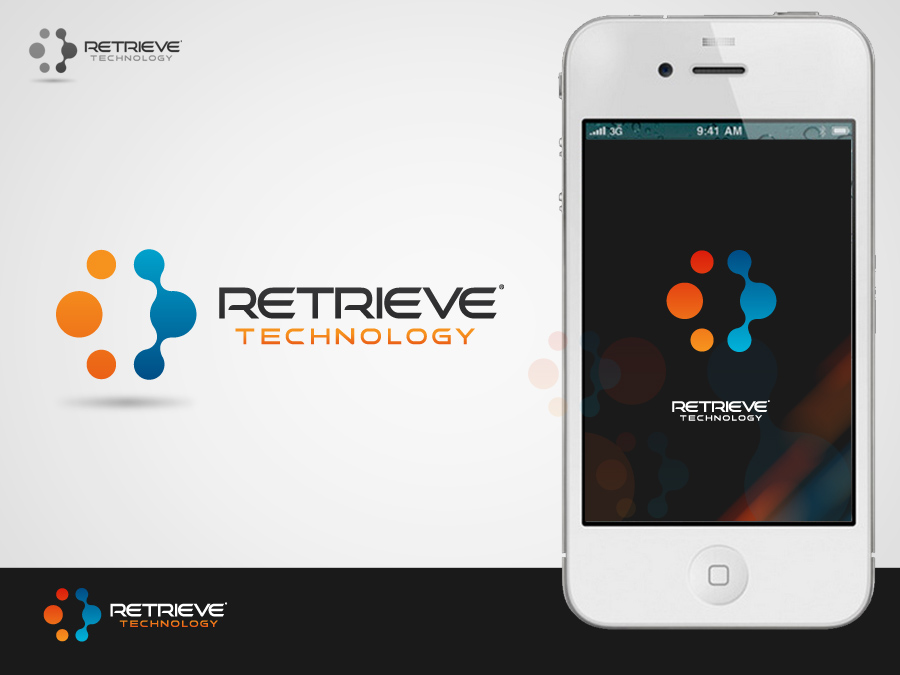 Logo Design by jpbituin - Entry No. 169 in the Logo Design Contest Artistic Logo Design for Retrieve Technologies.