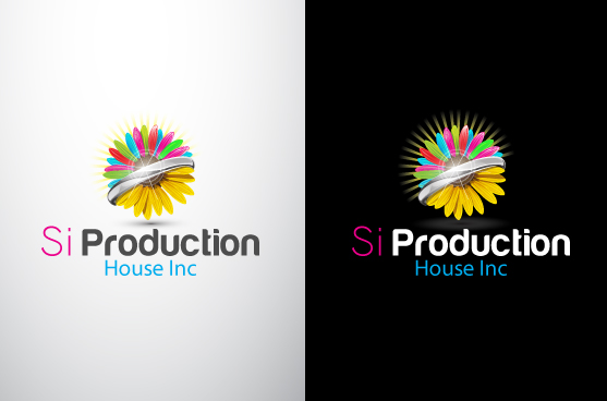 Logo Design by Mithun Chakraborty - Entry No. 107 in the Logo Design Contest Si Production House Inc Logo Design.