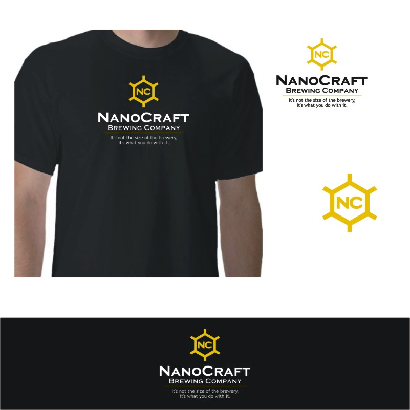 Logo Design by Private User - Entry No. 89 in the Logo Design Contest Unique Logo Design Wanted for NanoCraft Brewing Company.