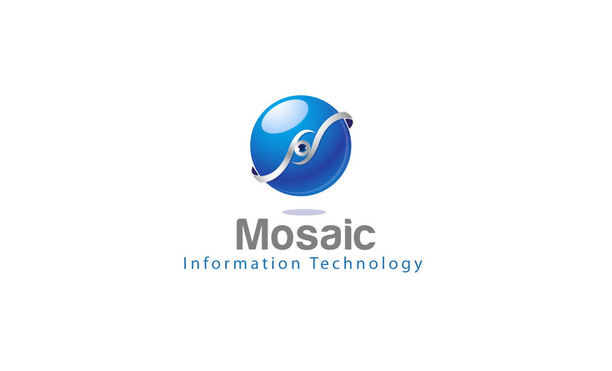 Logo Design by Mithun Chakraborty - Entry No. 20 in the Logo Design Contest Mosaic Information Technology Logo Design.