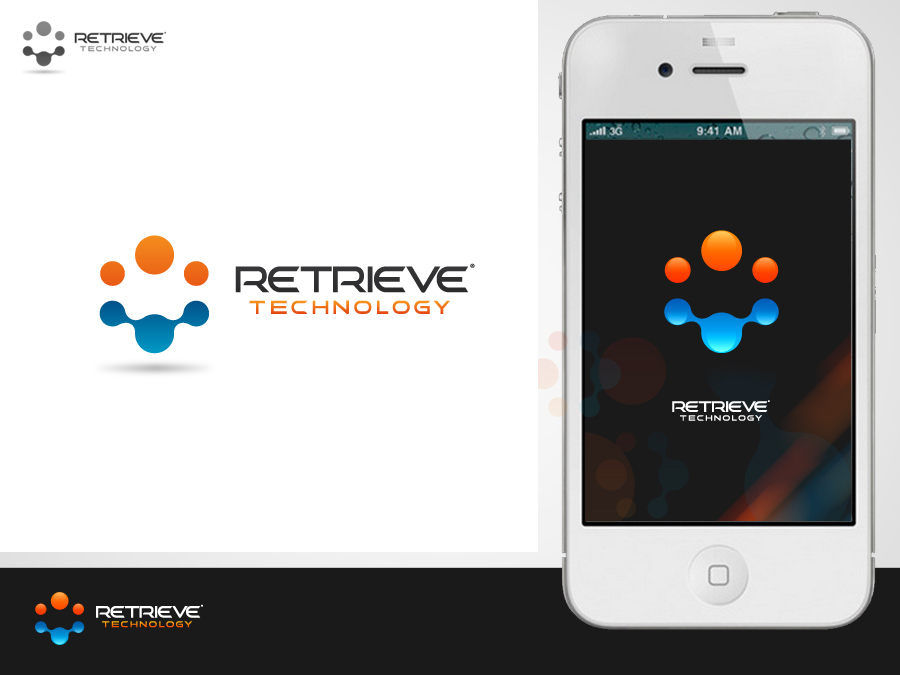 Logo Design by jpbituin - Entry No. 183 in the Logo Design Contest Artistic Logo Design for Retrieve Technologies.