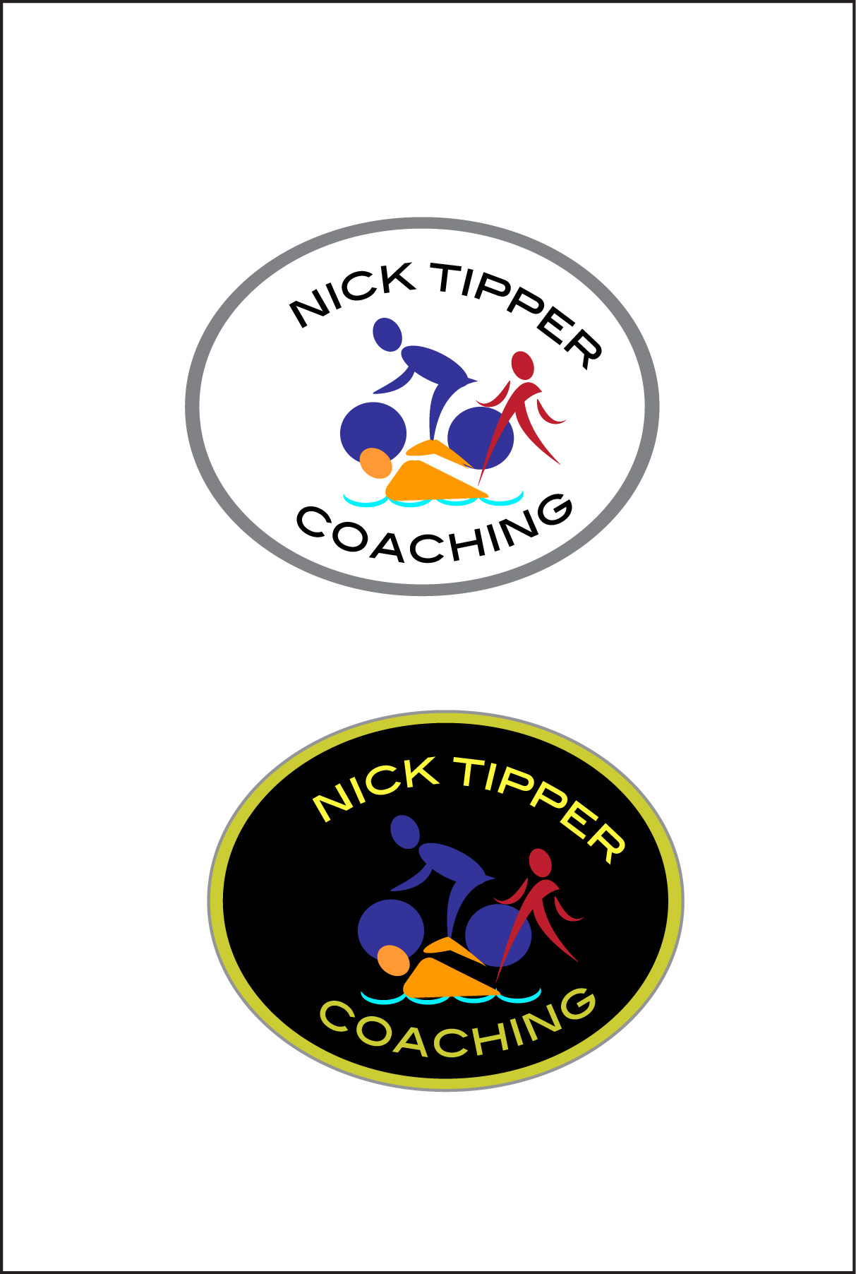 Logo Design by Nancy Grant - Entry No. 57 in the Logo Design Contest Logo Design for Nick Tipper Coaching.