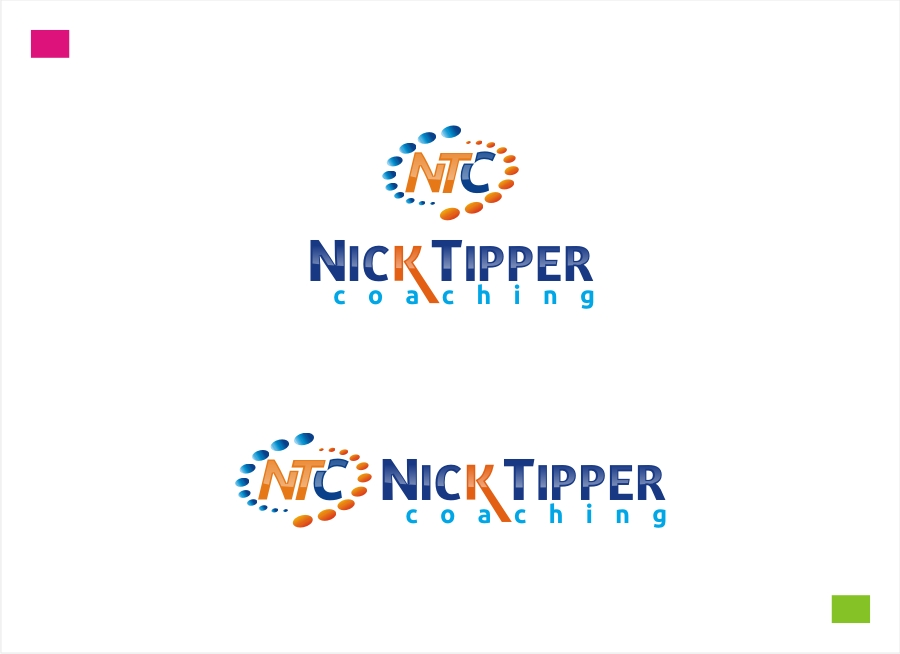 Logo Design by Private User - Entry No. 75 in the Logo Design Contest Logo Design for Nick Tipper Coaching.
