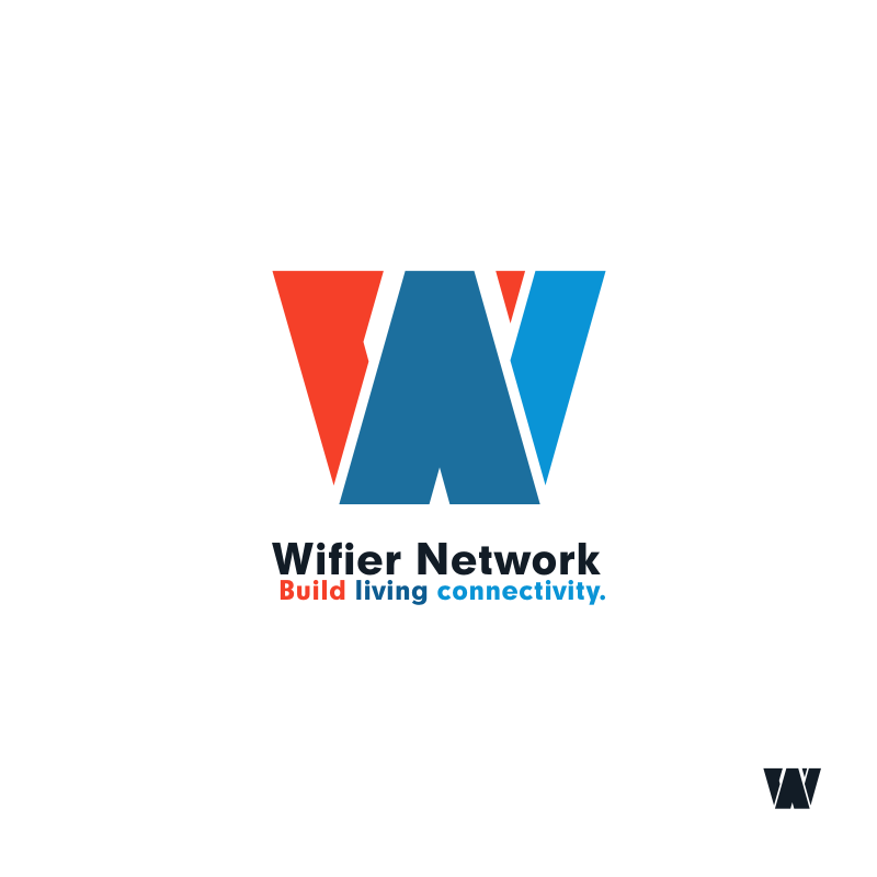Logo Design by hkdesign - Entry No. 2 in the Logo Design Contest New Logo Design for Wifier Network.