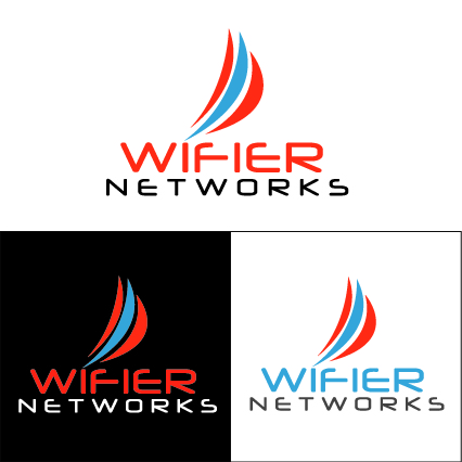 Logo Design by Jorge Henriquez - Entry No. 12 in the Logo Design Contest New Logo Design for Wifier Network.