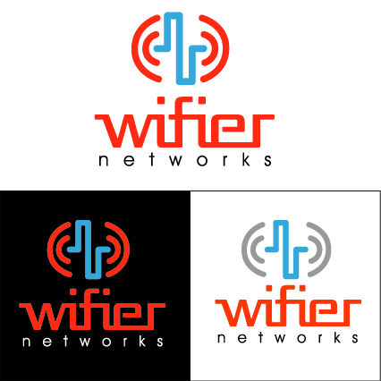 Logo Design by Jorge Henriquez - Entry No. 13 in the Logo Design Contest New Logo Design for Wifier Network.