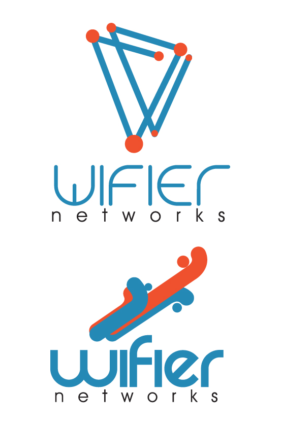 Logo Design by Jorge Henriquez - Entry No. 17 in the Logo Design Contest New Logo Design for Wifier Network.