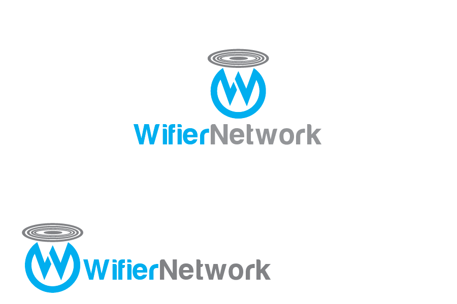 Logo Design by Private User - Entry No. 22 in the Logo Design Contest New Logo Design for Wifier Network.