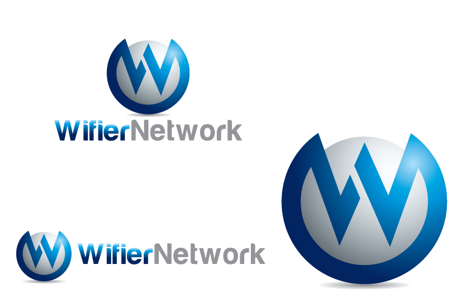 Logo Design by Private User - Entry No. 31 in the Logo Design Contest New Logo Design for Wifier Network.
