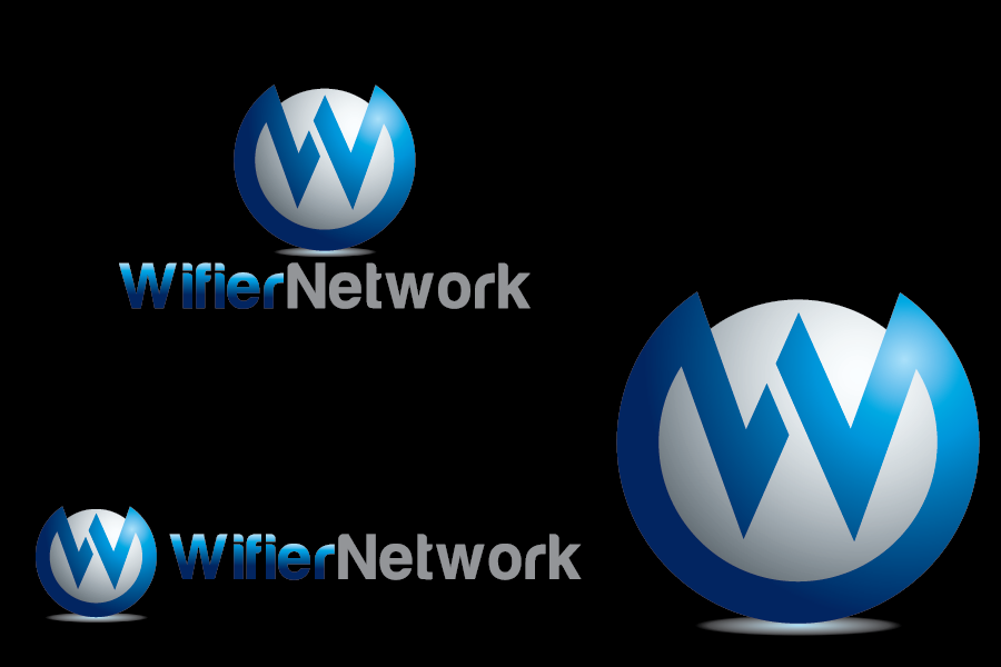 Logo Design by Private User - Entry No. 32 in the Logo Design Contest New Logo Design for Wifier Network.