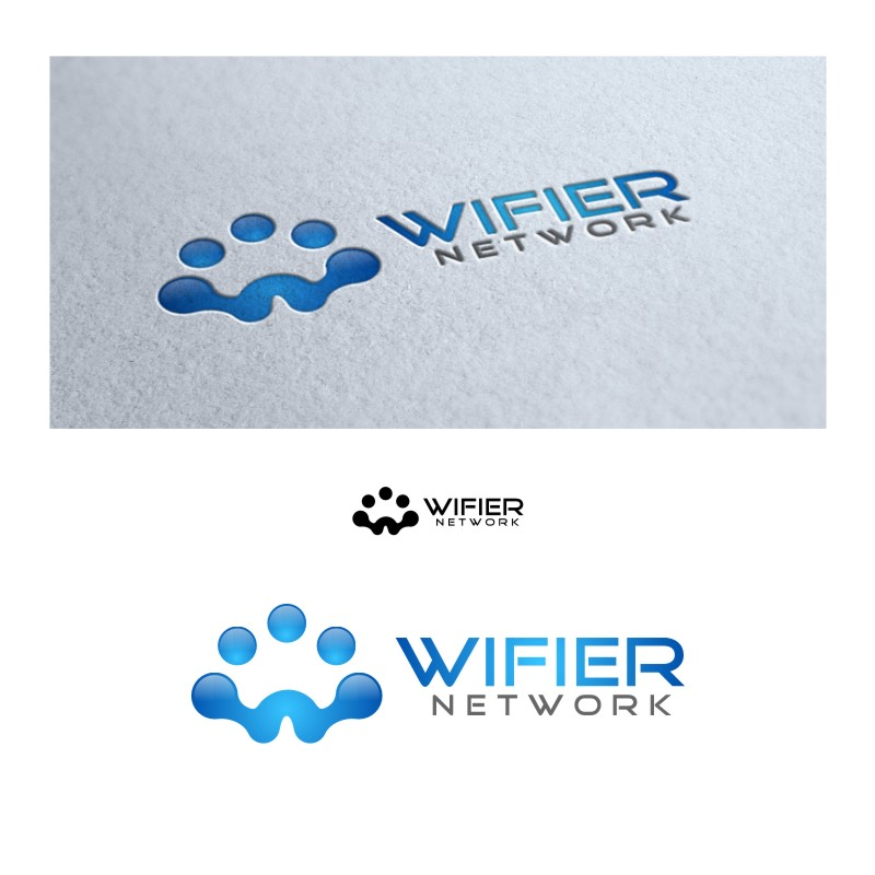 Logo Design by untung - Entry No. 38 in the Logo Design Contest New Logo Design for Wifier Network.